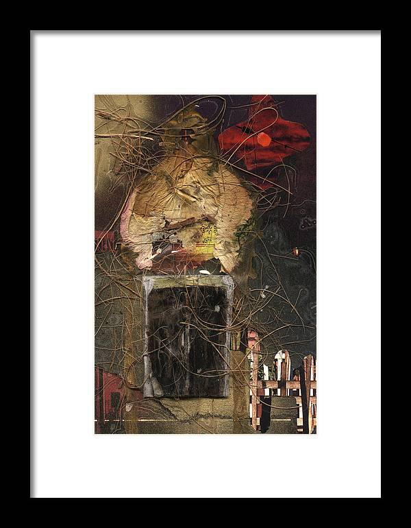 Kamelogana Framed Print featuring the mixed media Moschee by Christoph Fuhrken