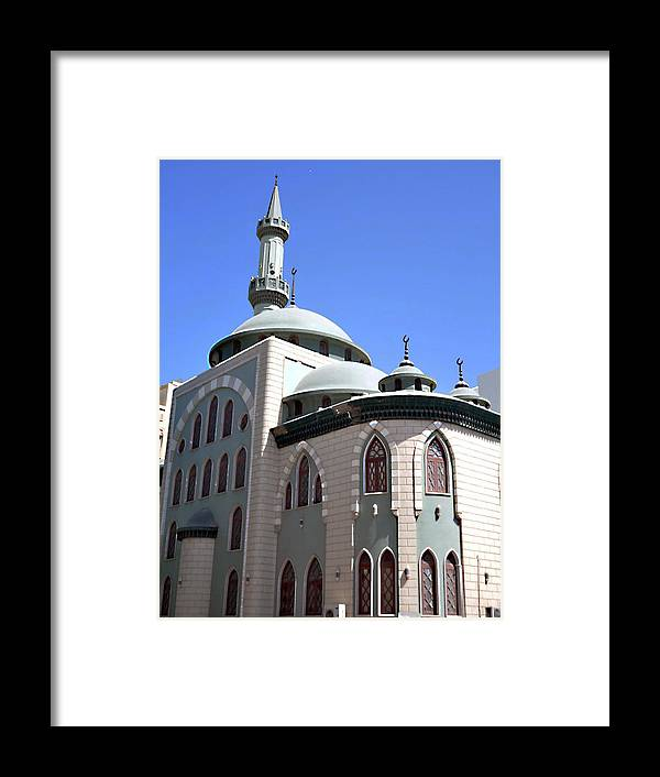 Mosque Framed Print featuring the photograph Mosque by John Hughes