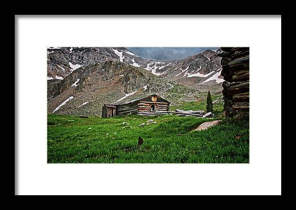 Nature Framed Print featuring the photograph Mother Nature's Reclamation Process, by Zayne Diamond Photographic