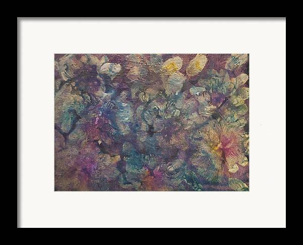Mother Of Pearl Framed Print featuring the painting Mother Of Pearl by Don Wright