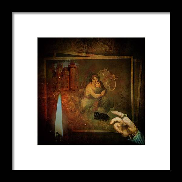 Mother Framed Print featuring the digital art Mothers Love by Sue Masterson