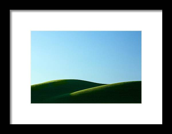 Simplicity Framed Print featuring the photograph Mounds by Todd Klassy