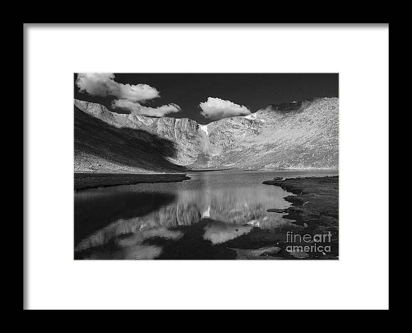 Colorado Framed Print featuring the photograph Mount Evans by David Bearden