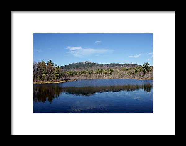 New England Framed Print featuring the photograph Mount Monadnock by Lois Lepisto