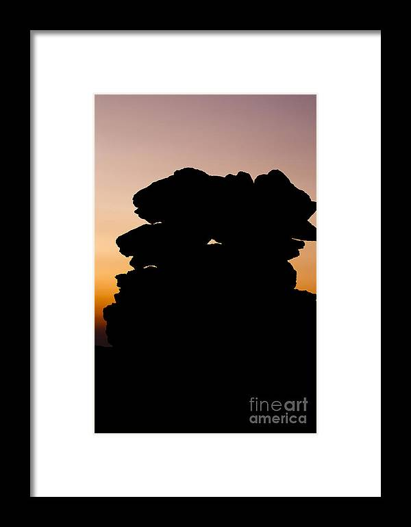 White Mountains Framed Print featuring the photograph Mount Washington - New Hampshire Usa Sunset by Erin Paul Donovan