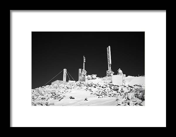 Hike Framed Print featuring the photograph Mount Washington State Park - White Mountains New Hampshire Usa by Erin Paul Donovan
