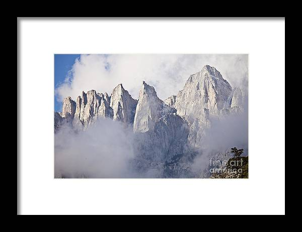 California Framed Print featuring the photograph Mount Whitney by Greg Clure
