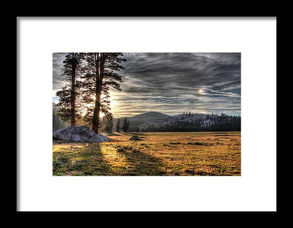 Landscape Framed Print featuring the photograph Mountain Afternoon by Jason Anderson