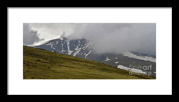 Alpine Framed Print featuring the photograph Mountain Clouds by Crystal Garner