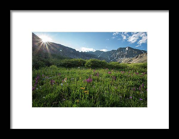 Mayflower Gulch Framed Print featuring the photograph Mountain Glory by Donald Poole