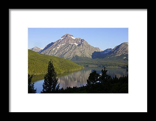 Lake Framed Print featuring the photograph Mountain Lake by Richard Steinberger