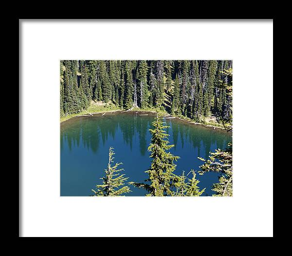 Mountain Framed Print featuring the photograph Mountain Lake by Sonja Anderson
