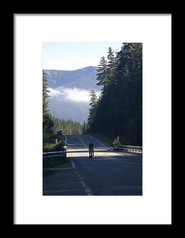 Juneau Framed Print featuring the photograph Mountain Ride by Jeffrey Ober
