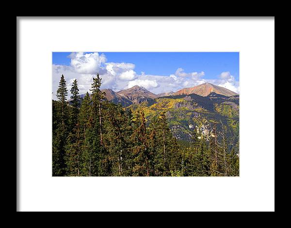 Colorado Framed Print featuring the photograph Mountains Aglow by Marty Koch