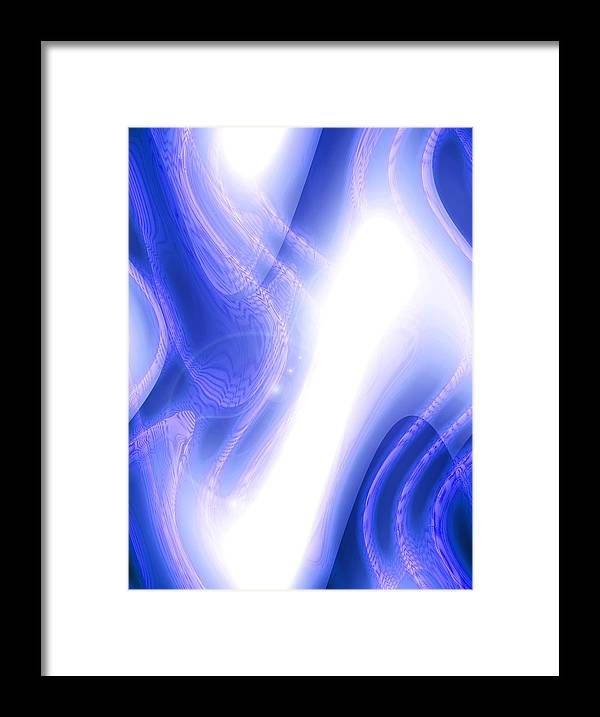 Moveonart Digital Gallery San Francisco California Lower Nob Hill Jacob Kane Kanduch Framed Print featuring the digital art Moveonart Extraterrestrial Movement 1 by Jacob Kanduch
