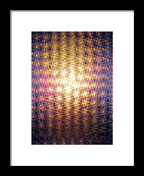 Moveonart! Global Gathering. Jacob Kanduch. Framed Print featuring the digital art Moveonart Rejoicejesusisalive by Jacob Kanduch