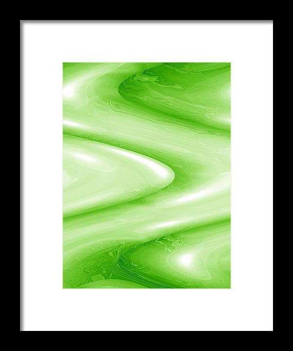 Moveonart! New York / San Francisco / Oklahoma City Jacob Kanduch Framed Print featuring the digital art Moveonart The Groove 3 by Jacob Kanduch