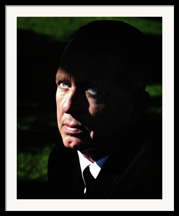 Portraits Framed Print featuring the photograph 'movie Heavy Bobby Ciari Hollywood Beach California 2010 by Gus McCrea