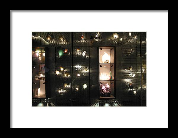 Jez C Self Framed Print featuring the photograph Moving Works by Jez C Self