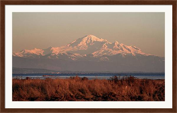 Mt Baker at sunset by Pierre Leclerc Photography