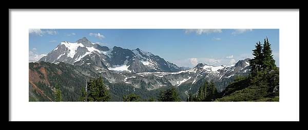 Landscape Framed Print featuring the photograph Mt Baker by Mark Camp