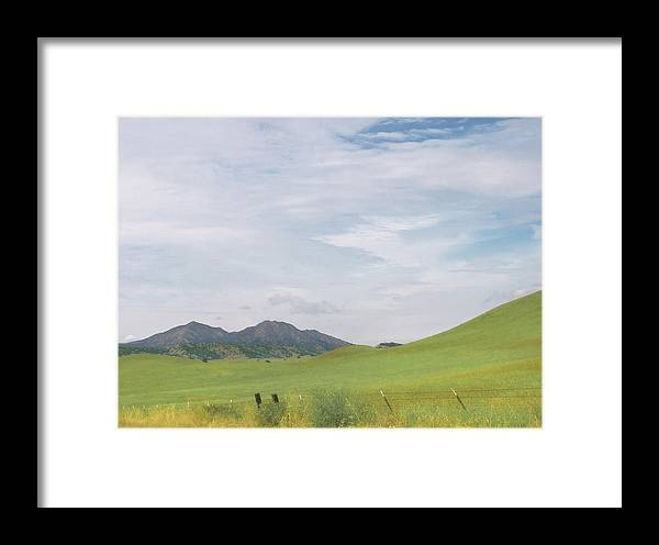 Landscape Framed Print featuring the photograph Mt. Diablo Mcr 1 by Karen W Meyer
