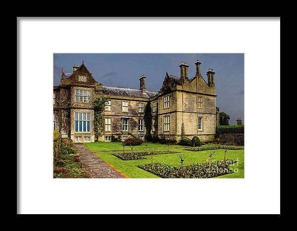 Muckross House Framed Print featuring the photograph Muckross House by Amy Sorvillo