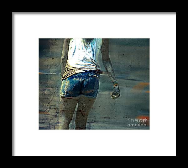 Beauty Framed Print featuring the photograph Mud Cakes by Steven Digman