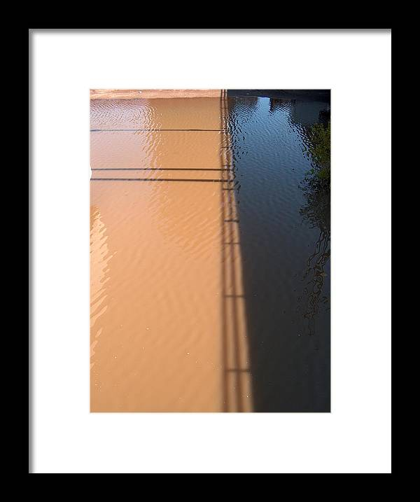 Chicago Framed Print featuring the photograph Muddy Shadows by Jacob Stempky
