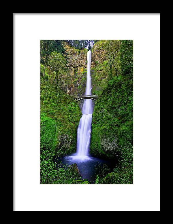 Multnomah Dream Framed Print featuring the photograph Multnomah Dream by Chad Dutson