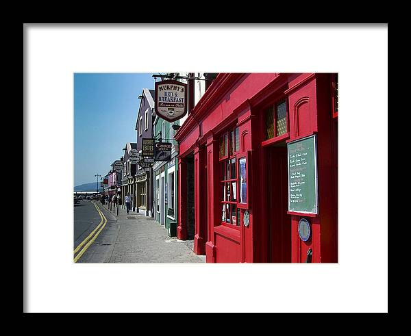 Irish Framed Print featuring the photograph Murphys Bed And Breakfast Dingle Ireland by Teresa Mucha