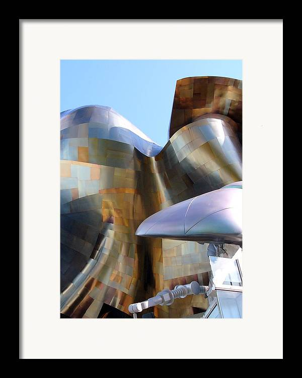 Architect Framed Print featuring the photograph Music Hall Other Side by Kenna Westerman