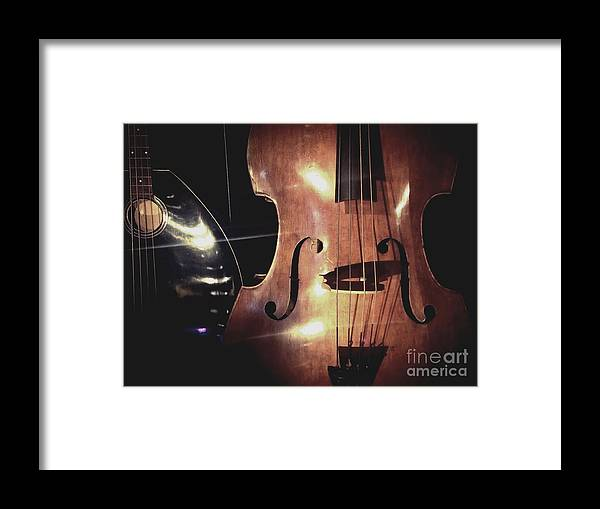 Violin Framed Print featuring the photograph Musical Talent by Michael Gailey