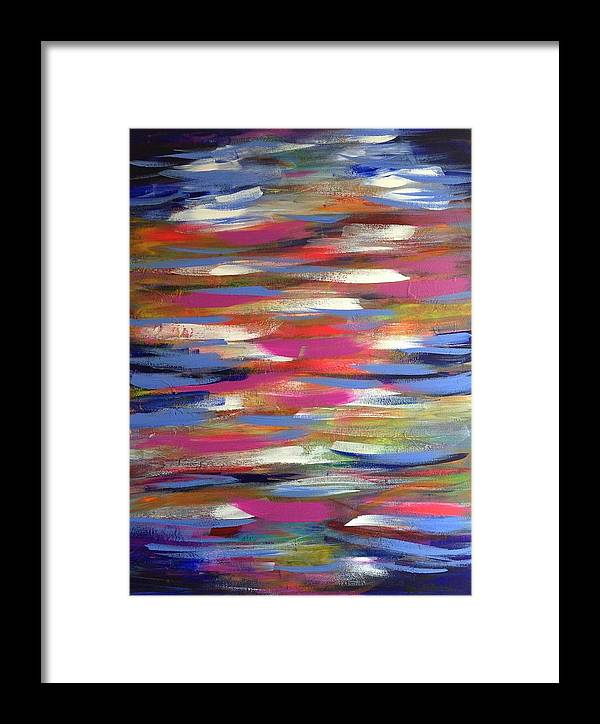 Musing Framed Print featuring the painting Musing by April Mickens