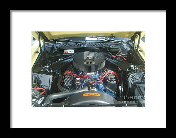 Mustang Framed Print featuring the photograph Mustang Mach 1 by Rob Luzier
