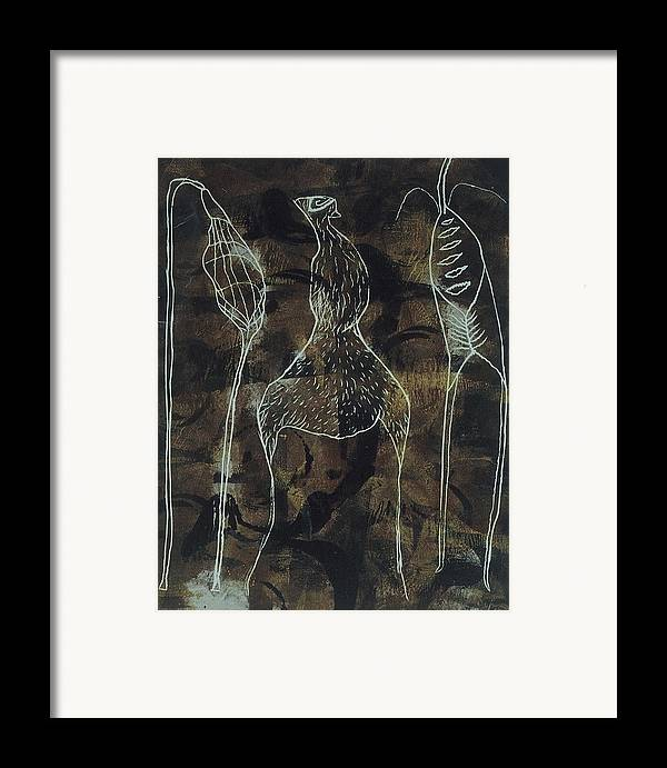 Organic Framed Print featuring the print Mutation 3 by Angela Dickerson