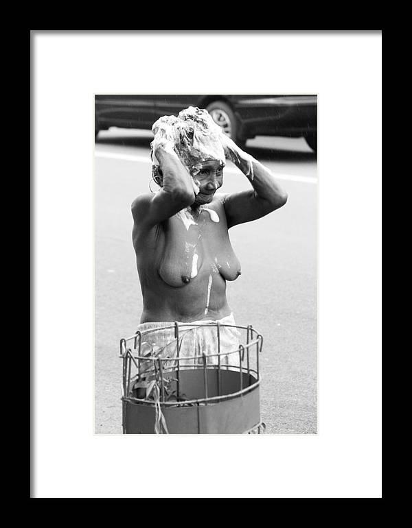 Photographer Framed Print featuring the photograph My Bathroom 10 by Jez C Self
