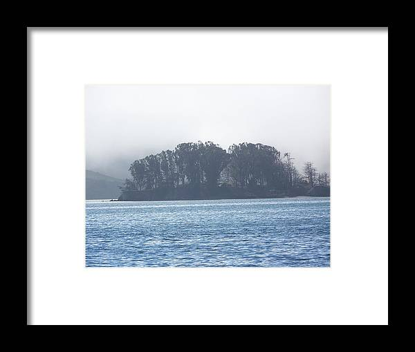 Waterscape Framed Print featuring the photograph My Blue Glow by Maggie Cruser