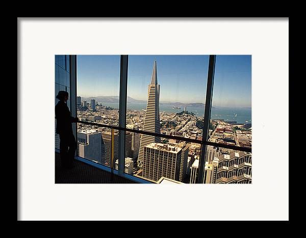 San Francisco Framed Print featuring the photograph My City On The Bay by Carl Purcell