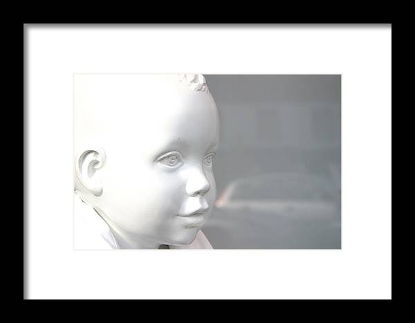 Jez C Self Framed Print featuring the photograph My Face by Jez C Self