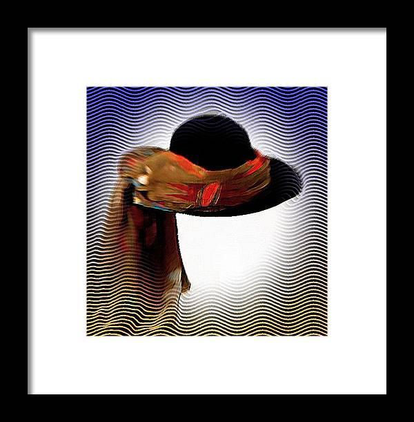 Hat Framed Print featuring the photograph My Favorit Hat by Carola Ann-Margret Forsberg
