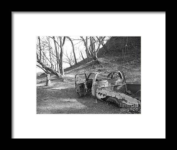 Truck Framed Print featuring the photograph My First Truck by Chad Natti