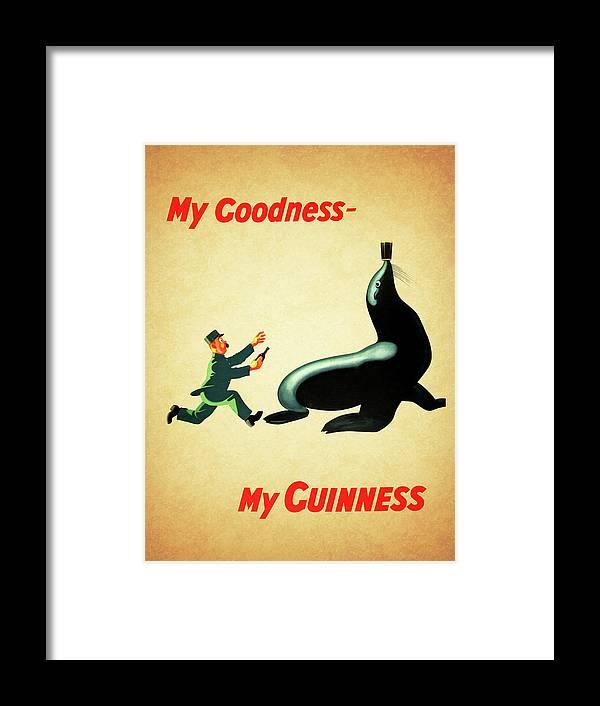 My Goodness My Guinness 1 Framed Print by Mark Rogan