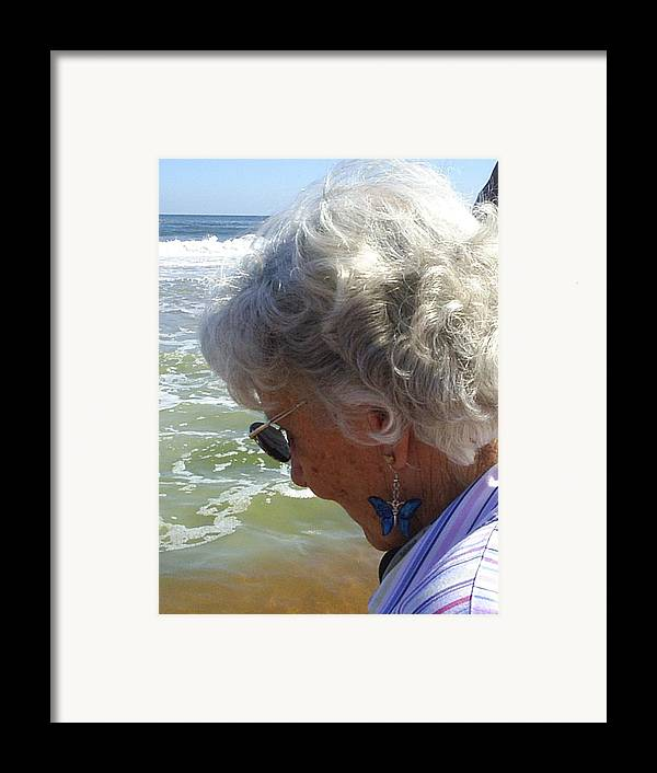 Grandmother Framed Print featuring the photograph My Grandmother by Scarlett Royal