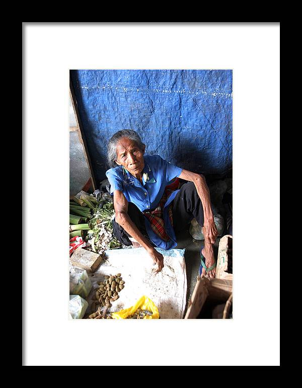 Photographer Framed Print featuring the photograph My Market 13 by Jez C Self