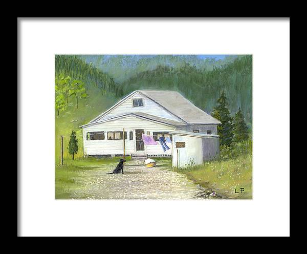 Kentucky Framed Print featuring the painting My Old Kentucky Home by Linda Preece