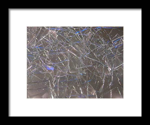 Broken Framed Print featuring the photograph My Wineglasses by Anna Villarreal Garbis