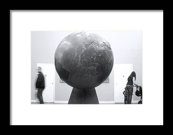 Jez C Self Framed Print featuring the photograph My World by Jez C Self