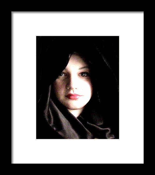 Self Photo Framed Print featuring the photograph Myself by Scarlett Royal