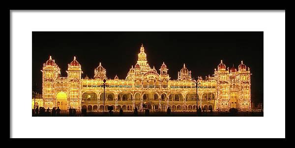 Mysore Framed Print featuring the photograph Mysore Palace by Sandeep Gangadharan
